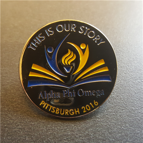 convention pin