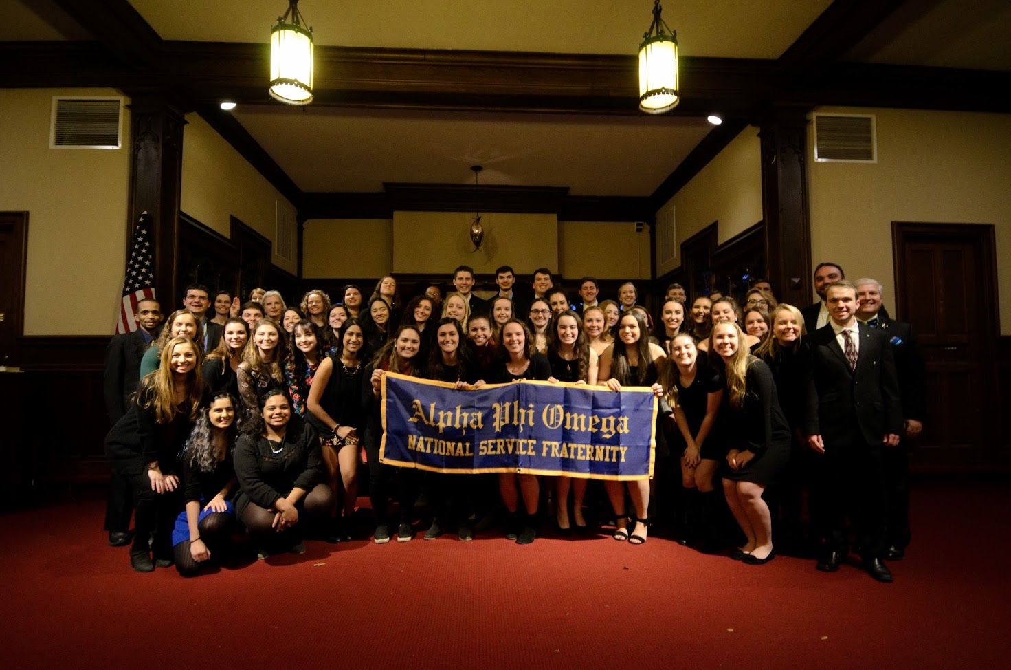 Alpha Chapter at the Lafayette College
