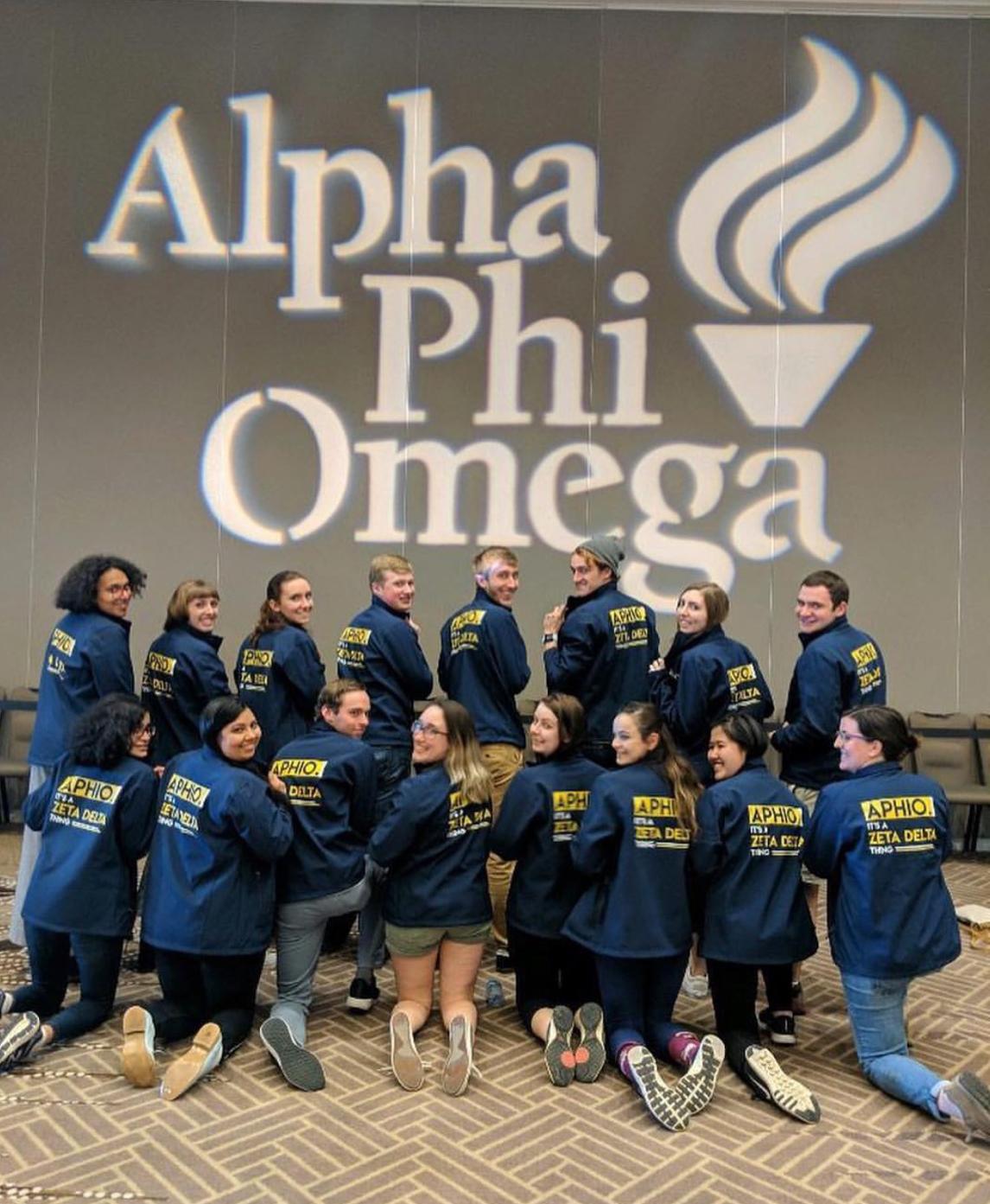 Alpha Phi Omega- National Service Fraternity