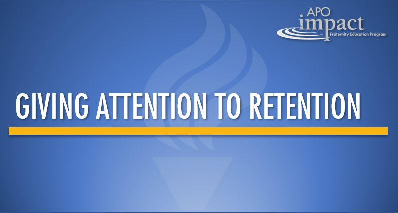 Giving Attention to Retention