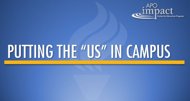 "Putting the ""Us"" in Campus"