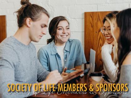 Society of Life Members & Sponsors