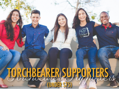 Torchbearer Supporters (under $75)