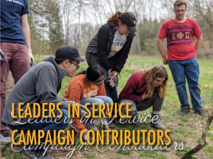 Leaders in service campaign contributors