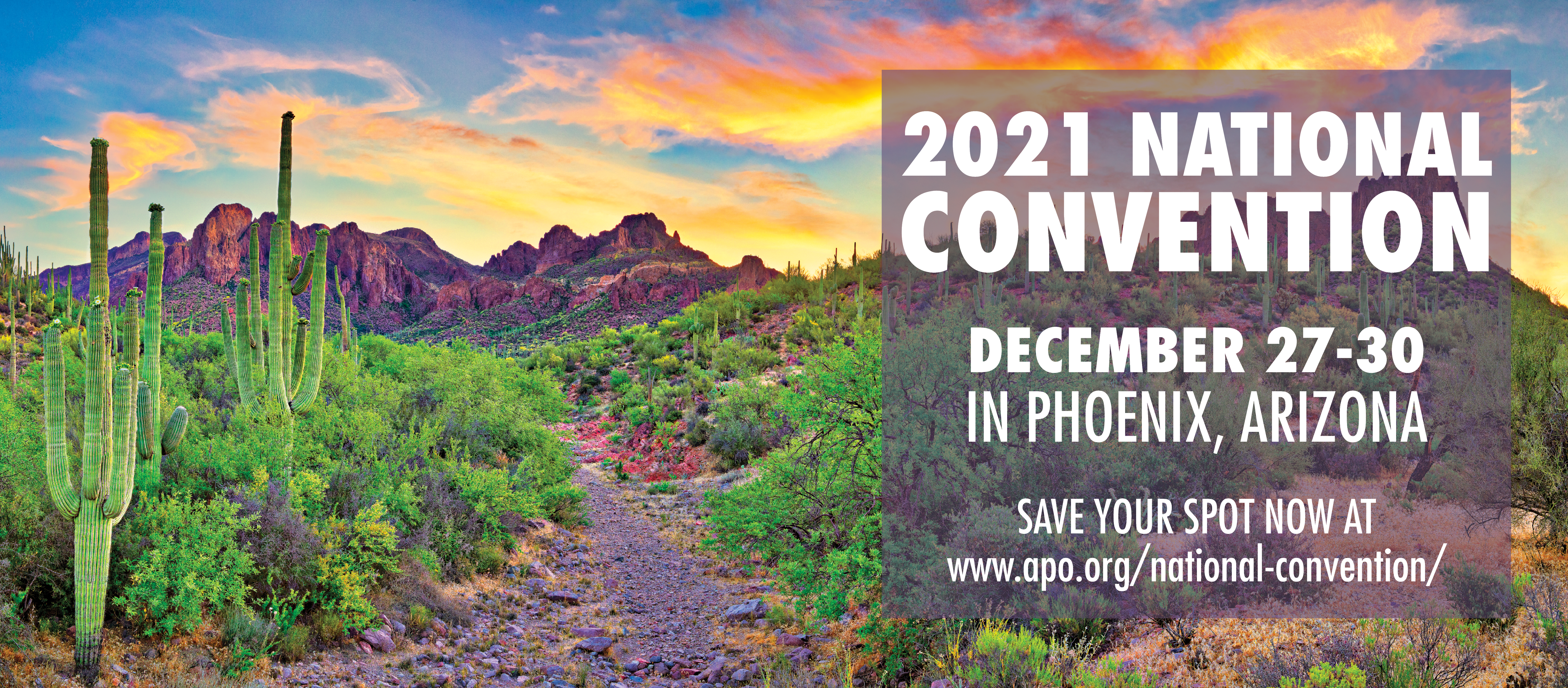 Registration for the 2021 National Convention is open! Click to learn more.