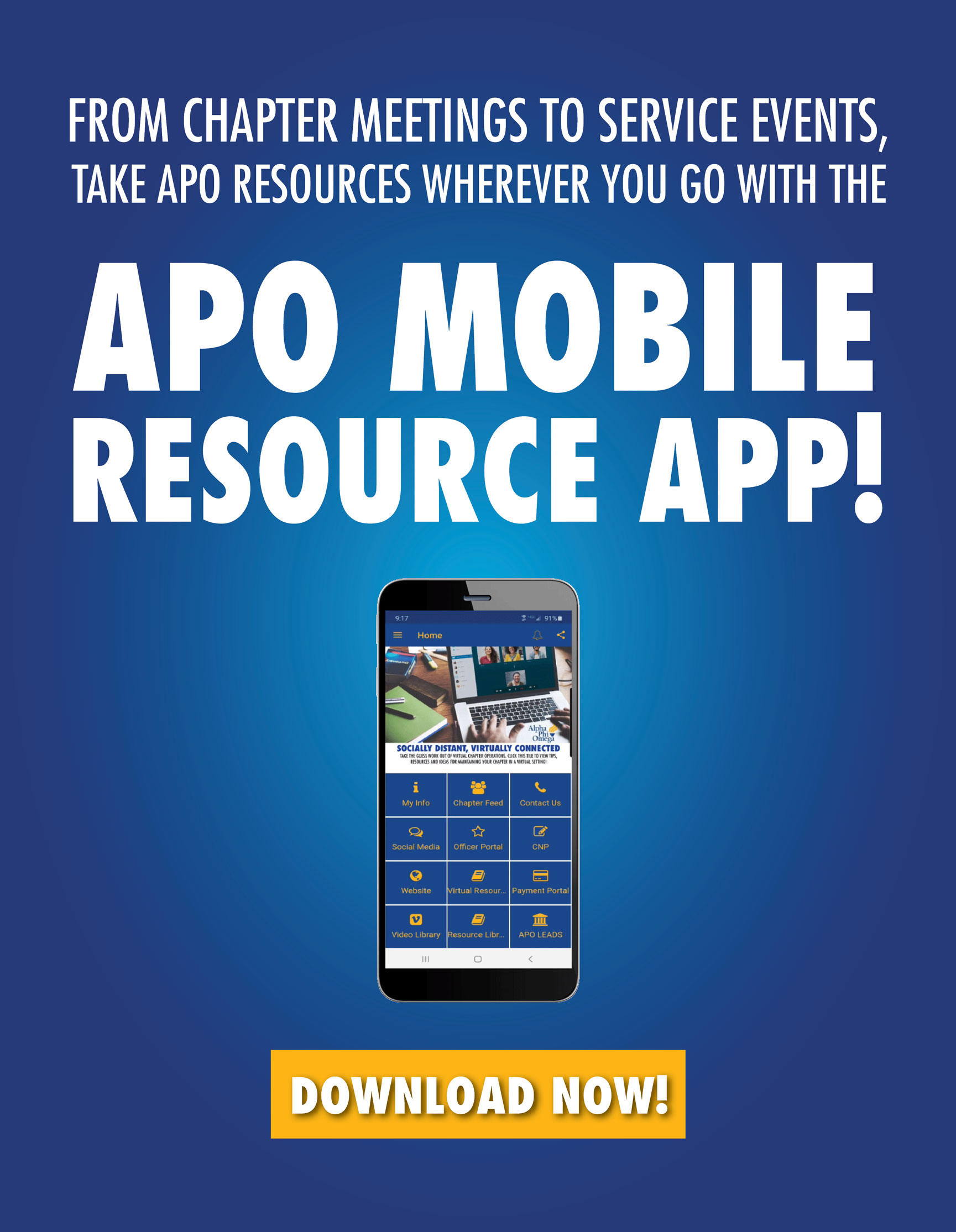Download the APO Mobile Resource App here