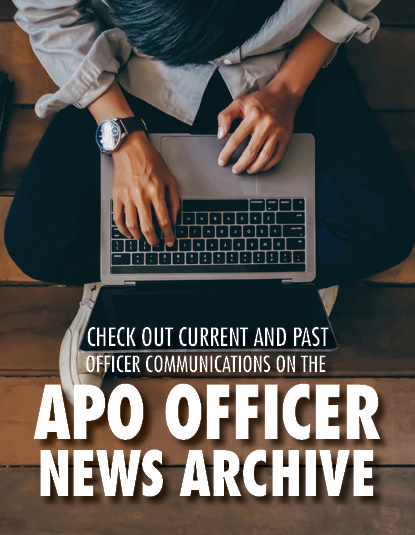 Click the image to access current and past chapter officer news and communications.