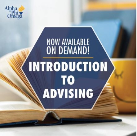 Now available on demand! introduction to advising